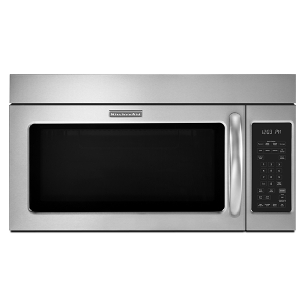 KitchenAid KHMS2040BSS Microwave Hood Combination Oven Stainless Steel 1000 watts at Sears.com